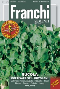 Ortolani Market Grower arugula from Seeds from Italy