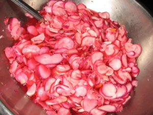 Radish Quick Pickles Photo by Bridget Aleshire
