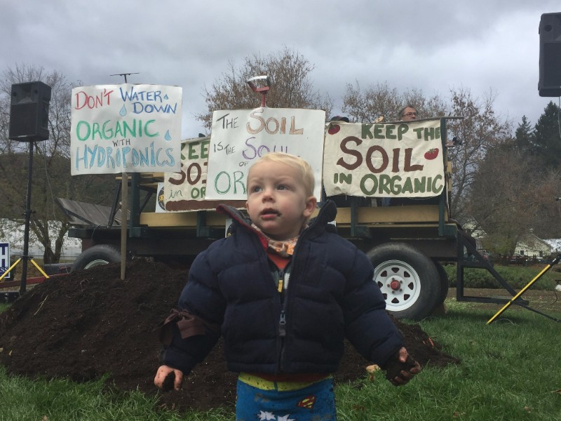 Photo from Dave Chapman, Organic Soil Movement